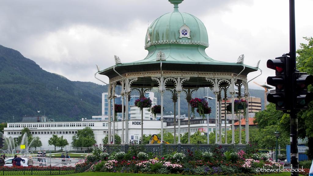 Byparken gazebo Bergen