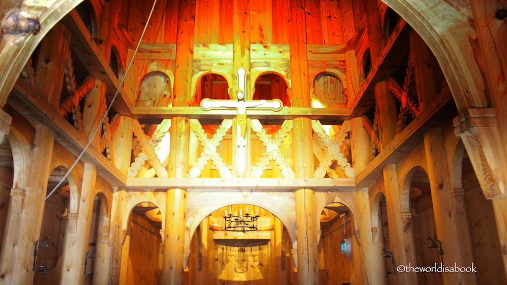 Fantoft Stave Church Interior