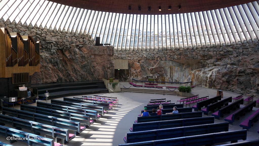 Temppeliaukio Rock Church Helsinki