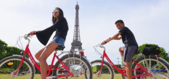 Biking in Paris with Fat Tire Tours