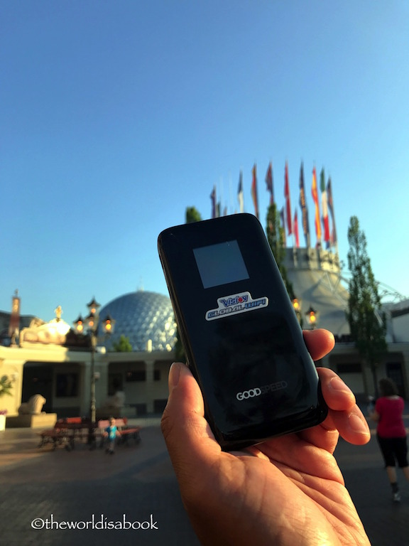 Europa Park global wireless