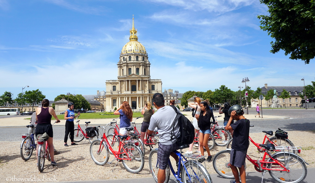 Fat Tire Bike Tour Paris
