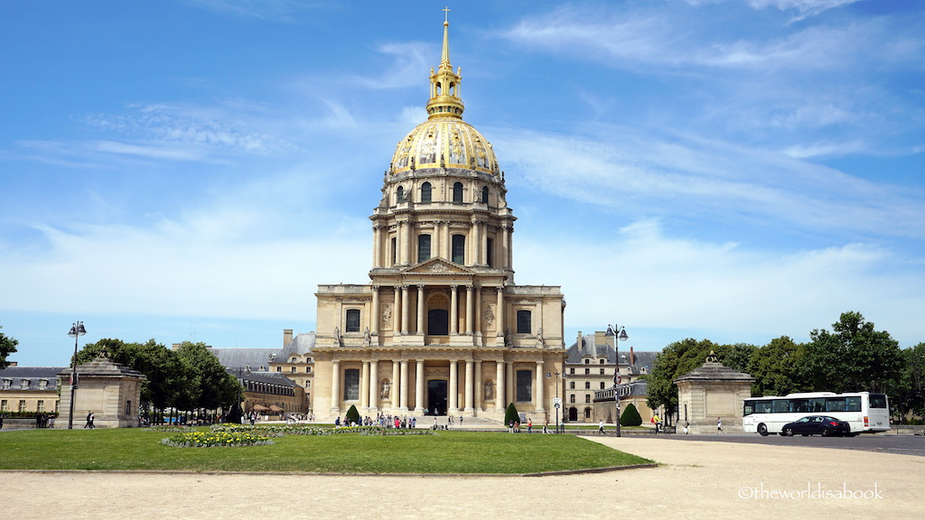 Invalides Dome Paris