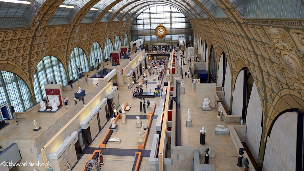 Musee d'Orsay Hall