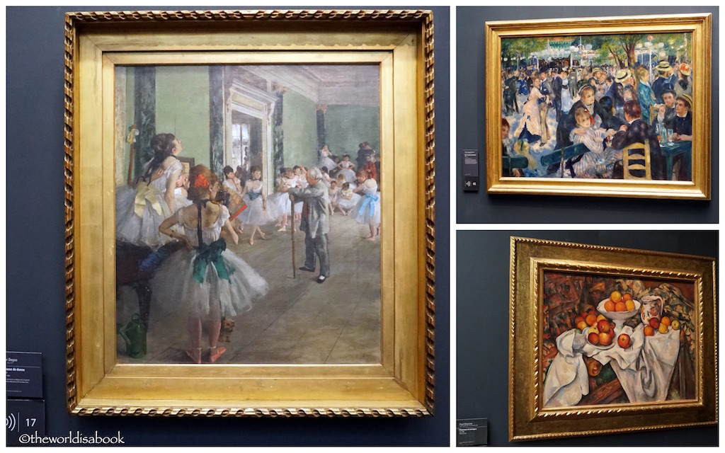 Visiting musee d 39 orsay with kids and context travel the for In their paintings the impressionists often focused on