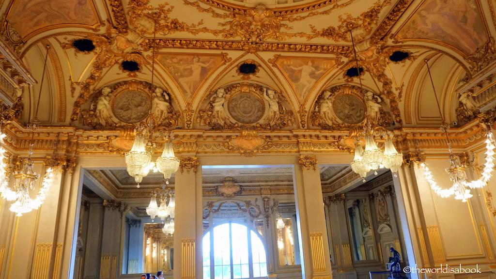 Palace d'Orsay ballroom