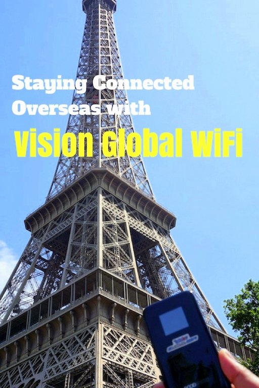 Vision Global Wifi PAris