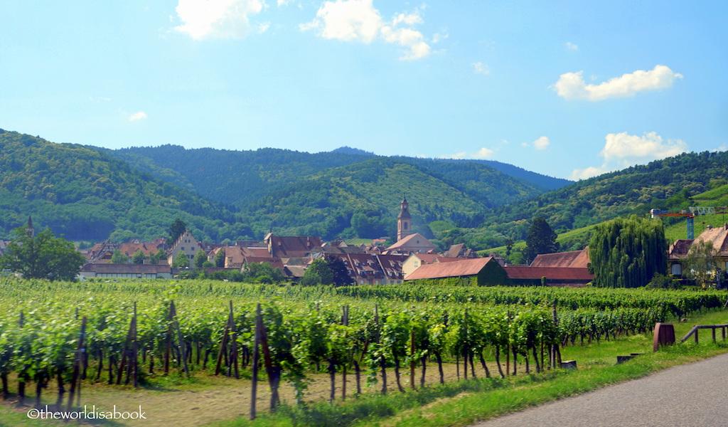 Alsace village France