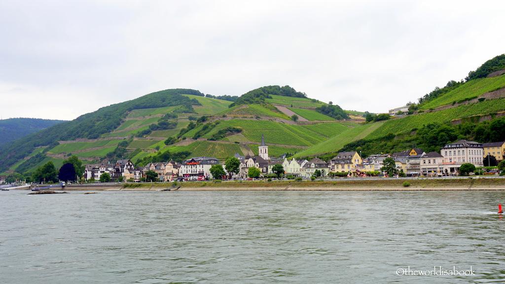 Assmannshausen Rhine river Germany