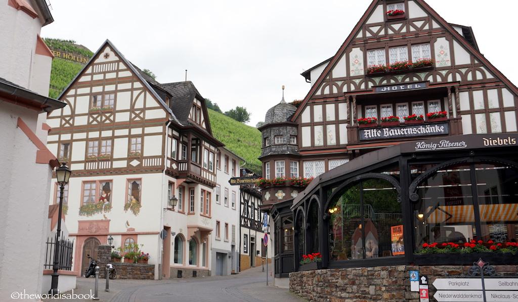 Assmanshausen village Germany