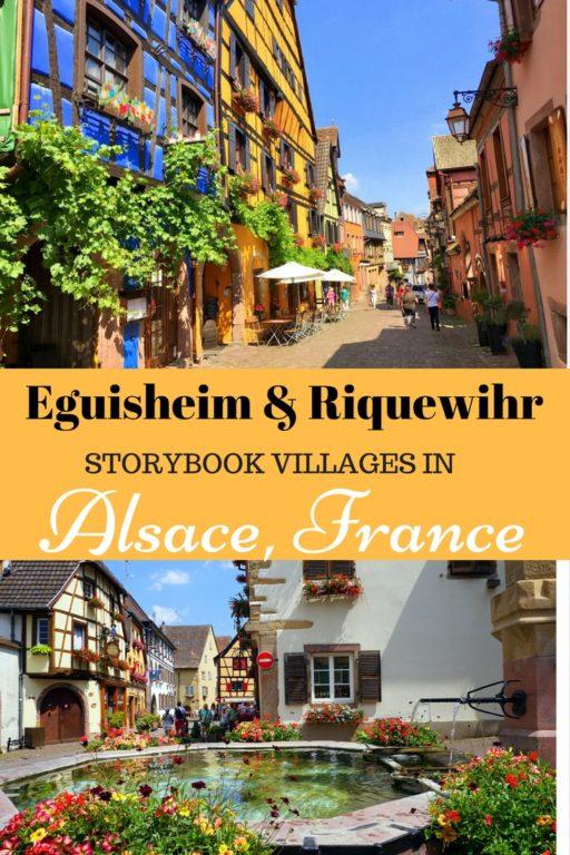 Eguisheim & Riquewihr Alsace