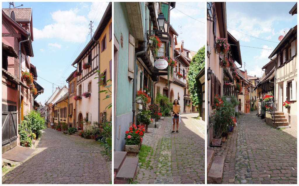 Eguisheim cobblestoned streets