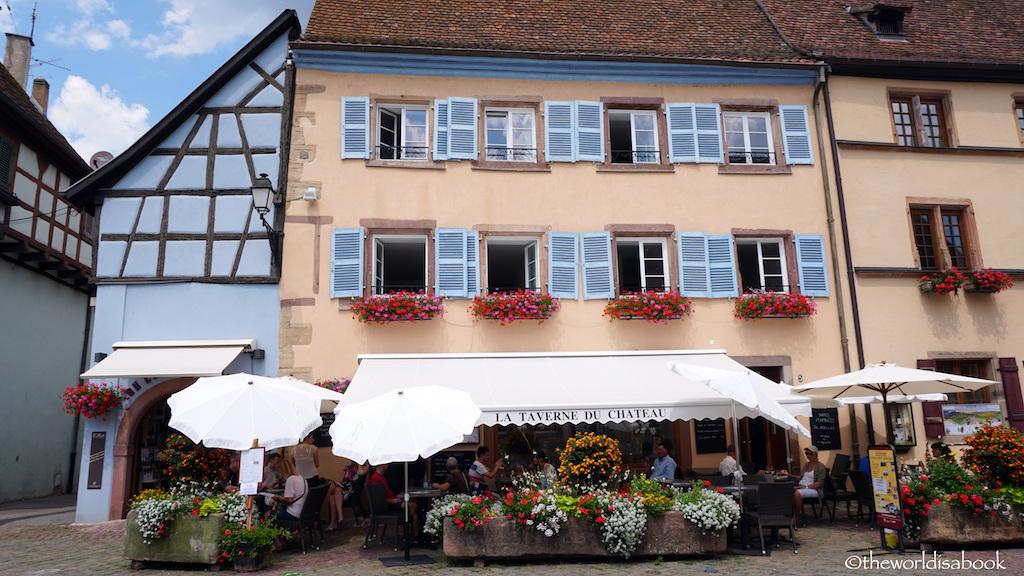 Eguisheim restaurant