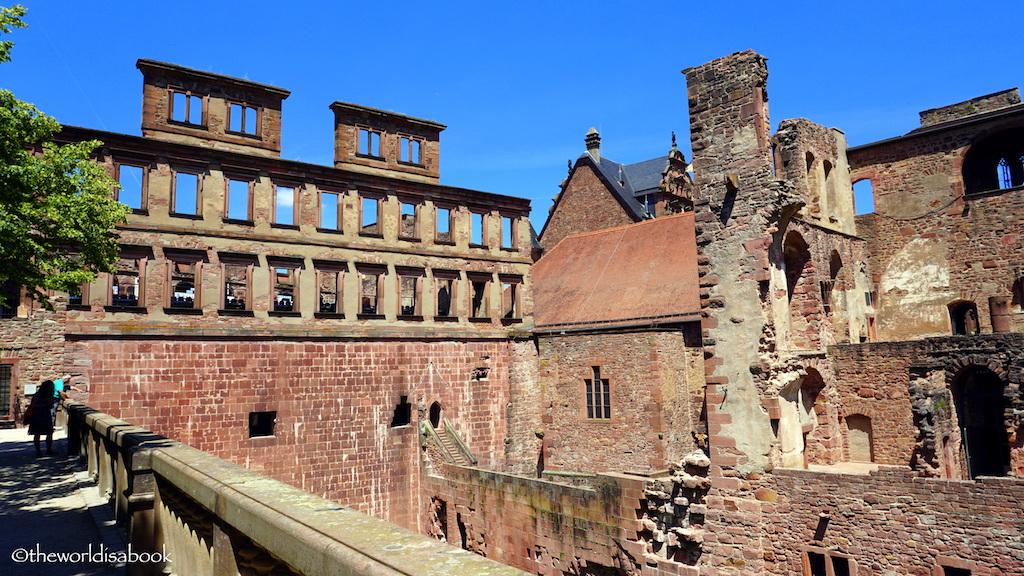 Heidelberg palace ruins