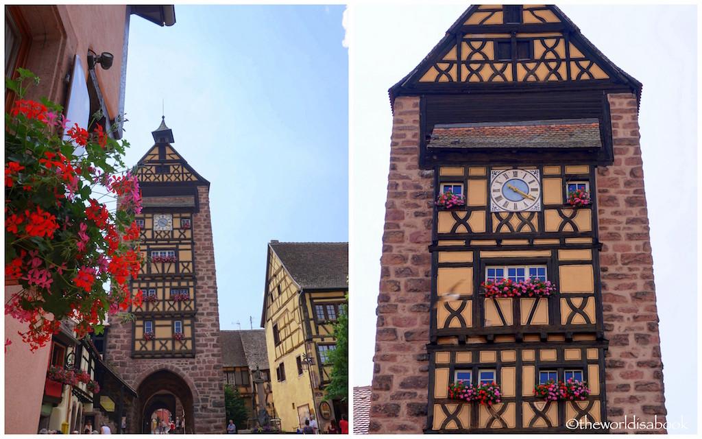 Riquewihr Dolder Clock tower