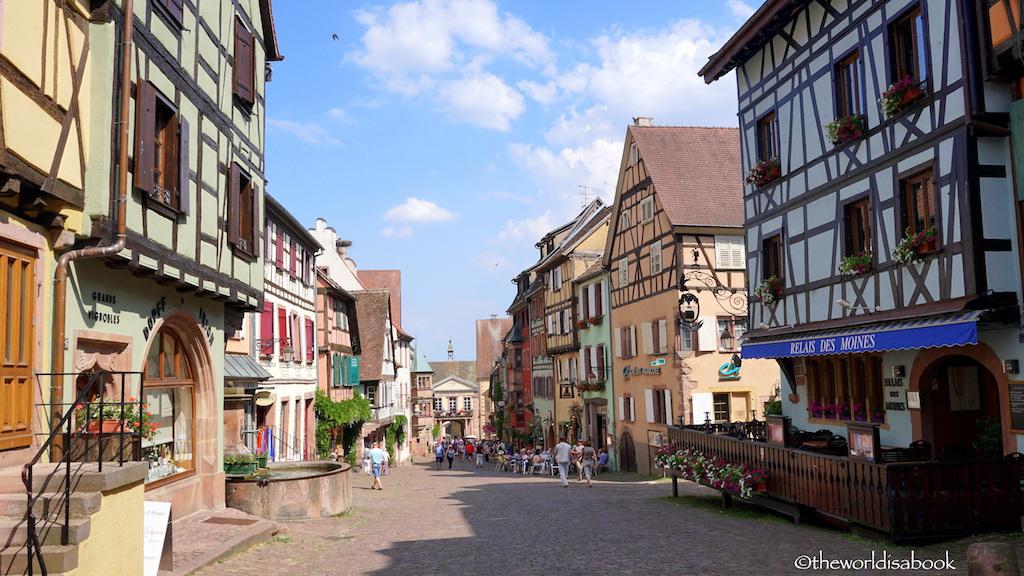 Riquewihr main street