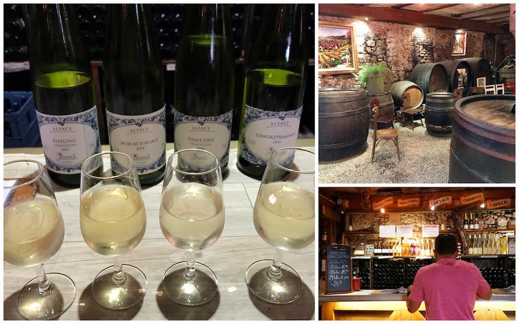 Riquewihr wine tasting