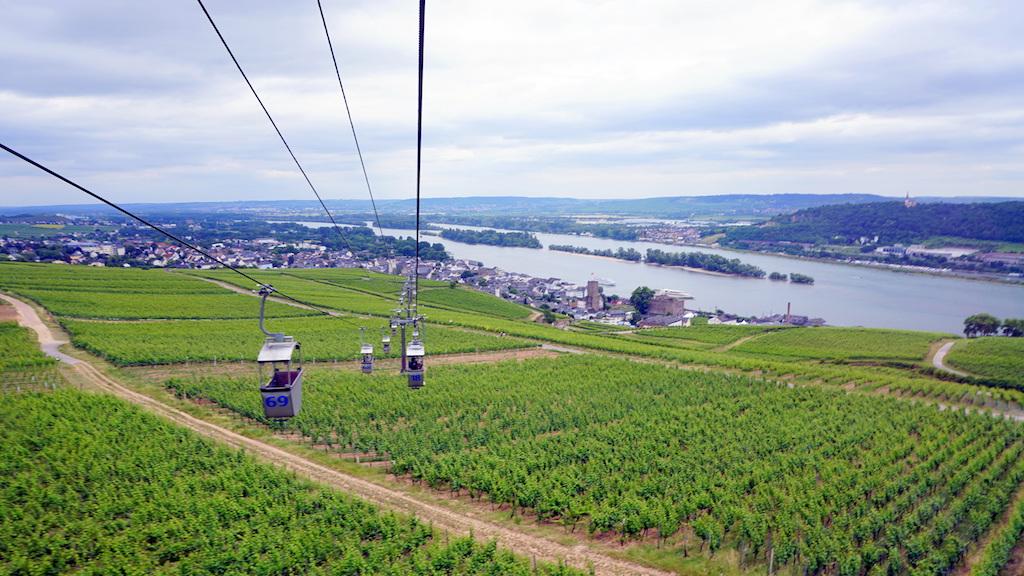 Rudesheim am Rhine cable car
