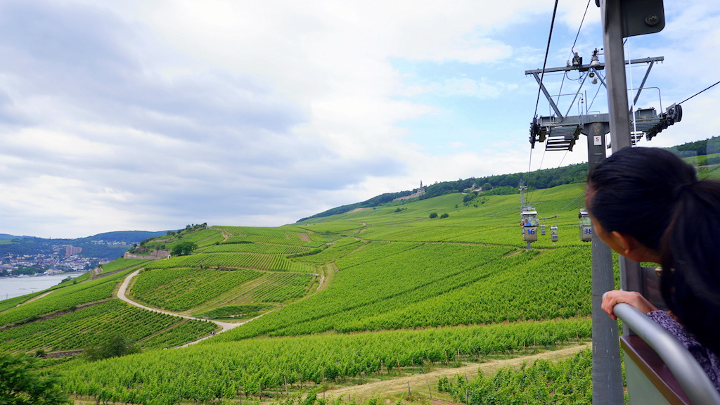 Rudesheim cable car Germany