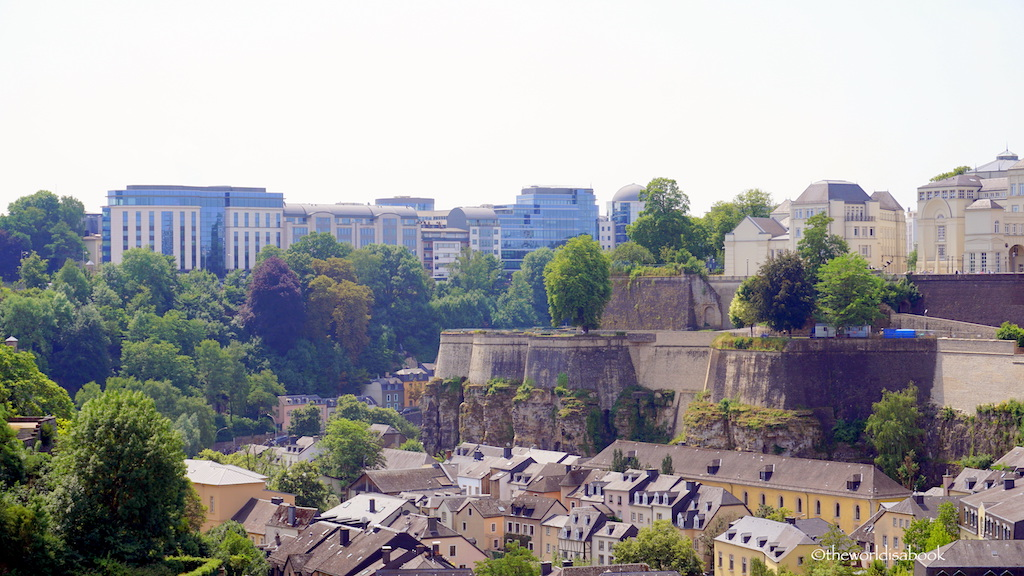 Luxembourg City fortress