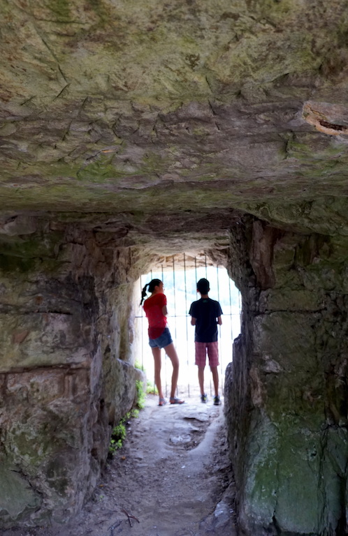 Luxembourg City with kids Bock Casemates