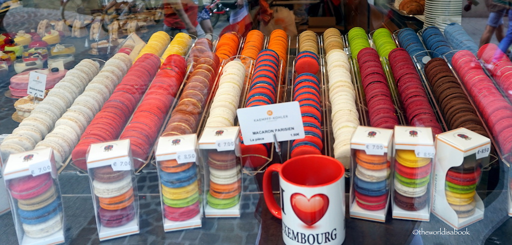 Luxembourg macarons