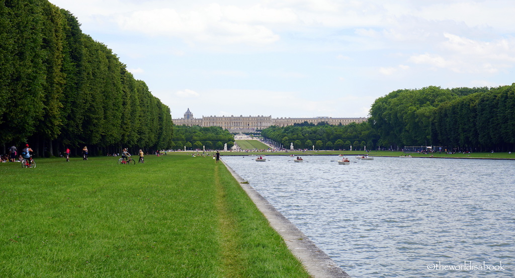 Palace of Versailles grand canal