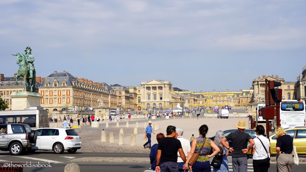 Palace of Versailles with kids