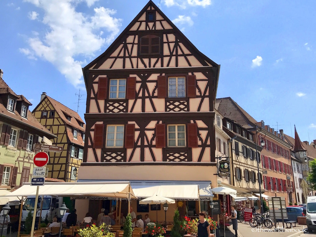 Colmar Alsace France Old Town