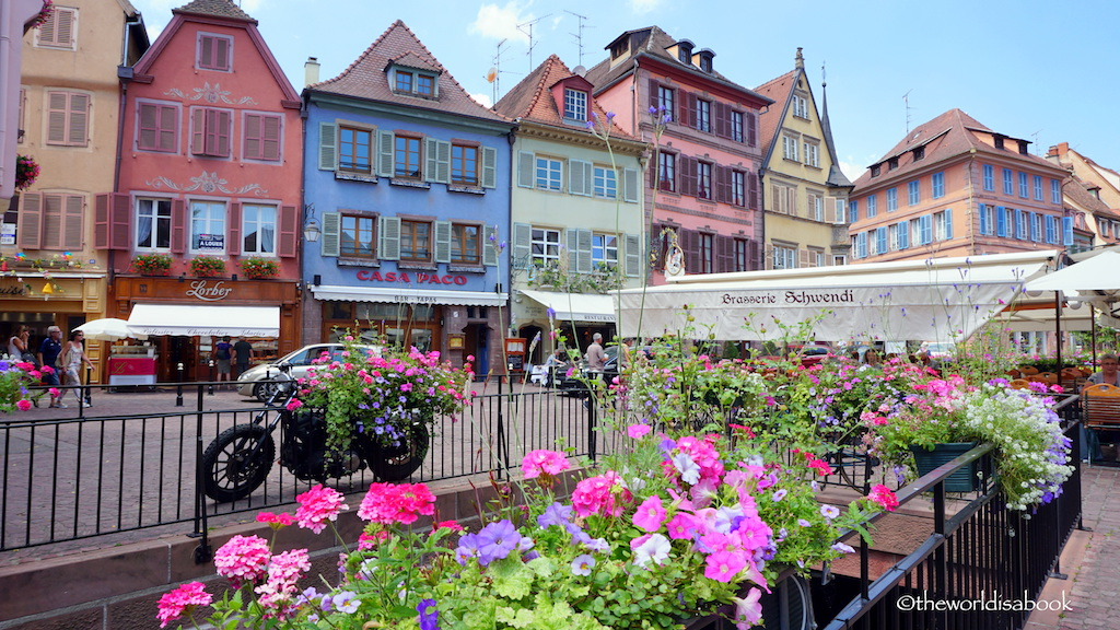 Colmar colorful houses