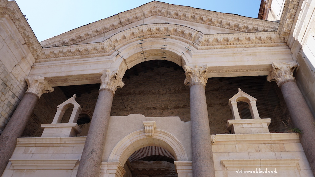 Diocletian Palace architecture
