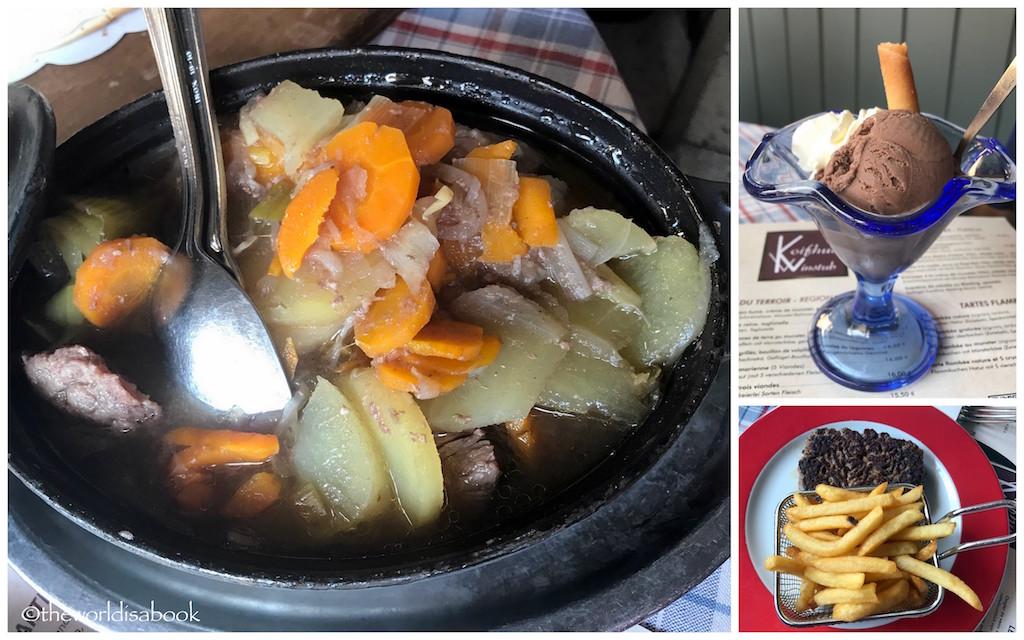 Eating in Colmar