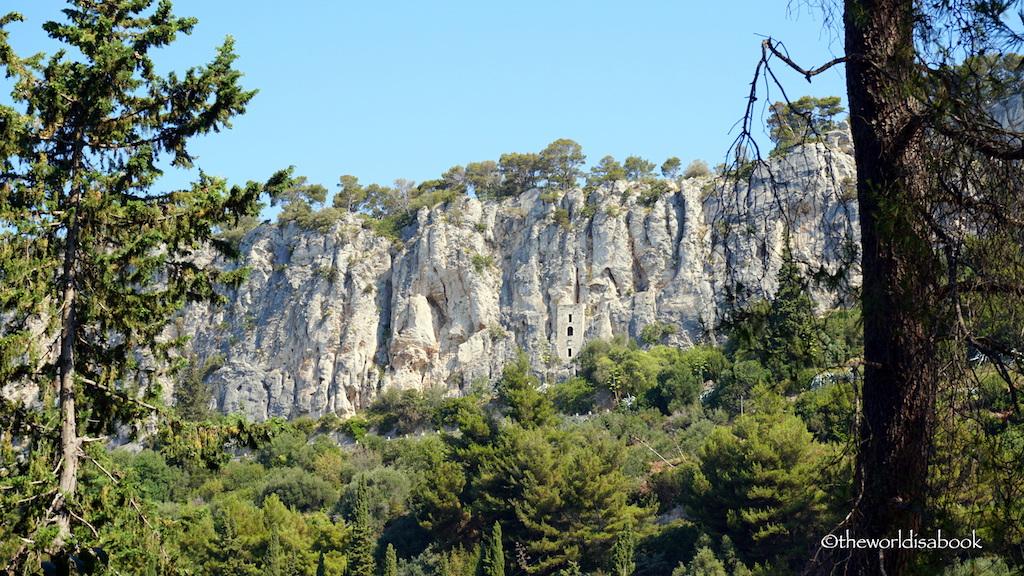 Split Church on rock