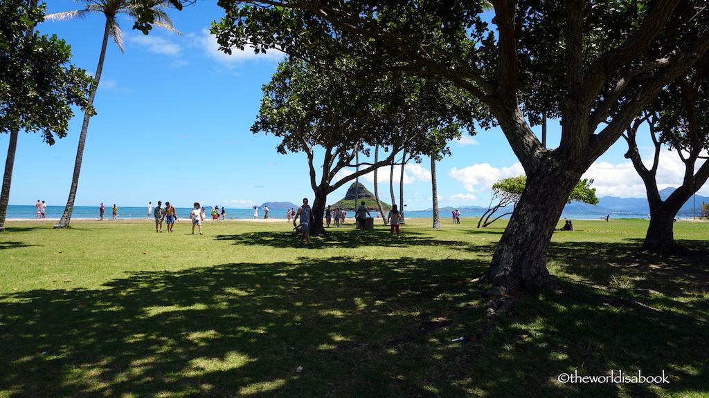 Kualoa Ranch beach park