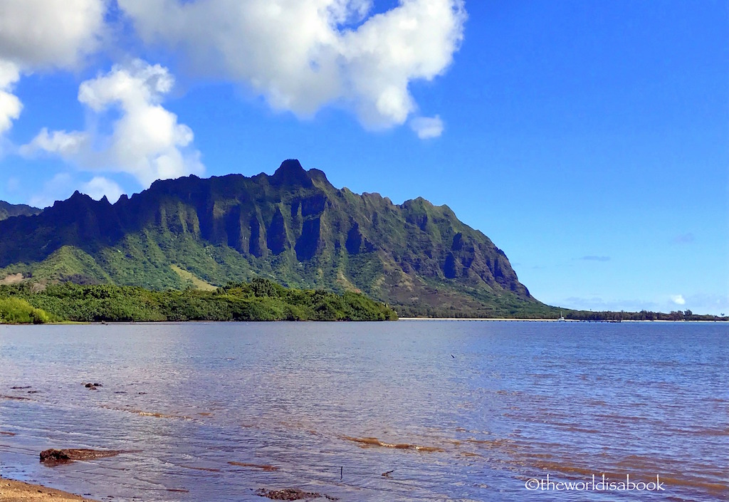 Kualoa mountains oahu
