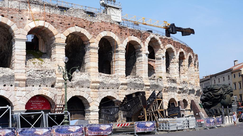 Verona Arena Opera Festival props