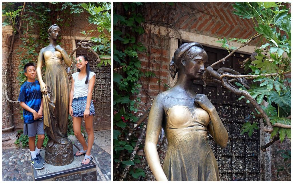 Verona Juliet statue