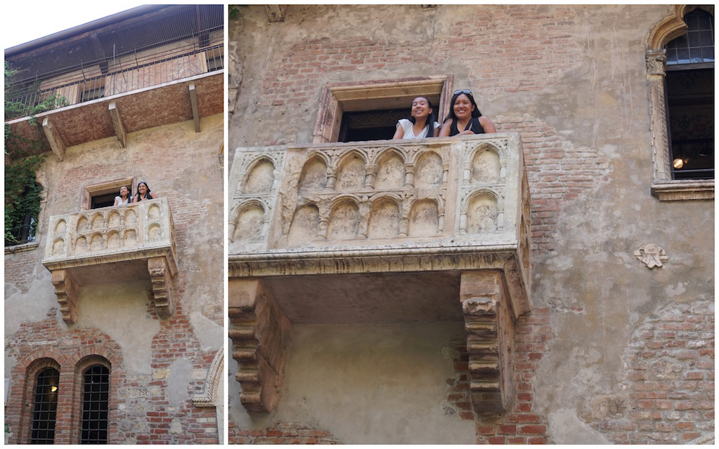 City of love a day in verona italy the world is a book for The balcony book