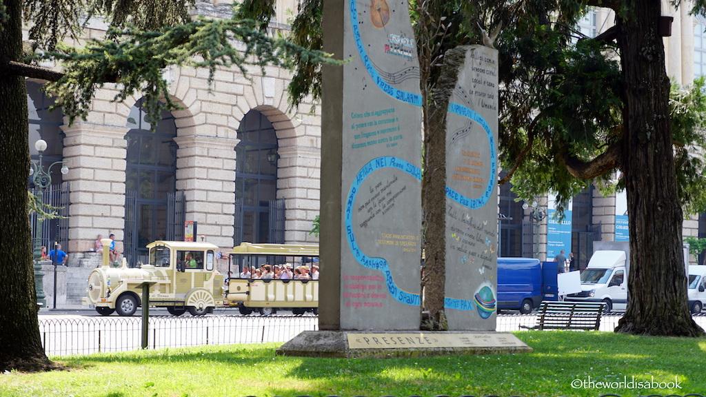 Verona peace monument
