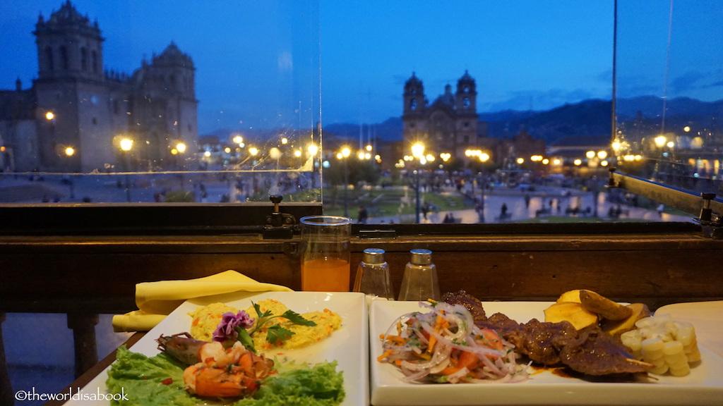 Eating in Cusco alpaca meat