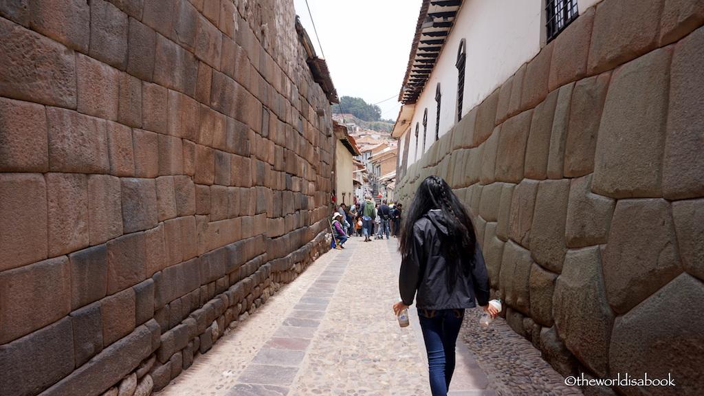 Inca walls Cusco