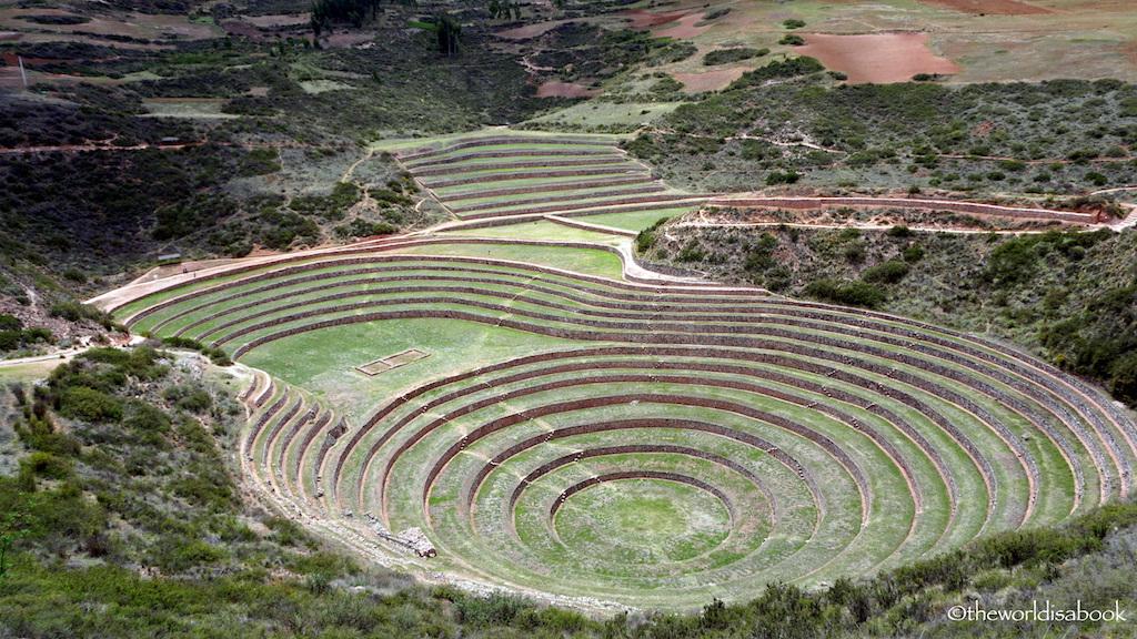 Moray agricultural ruins Peru