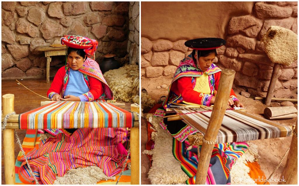 PERU Awanacancha weavers