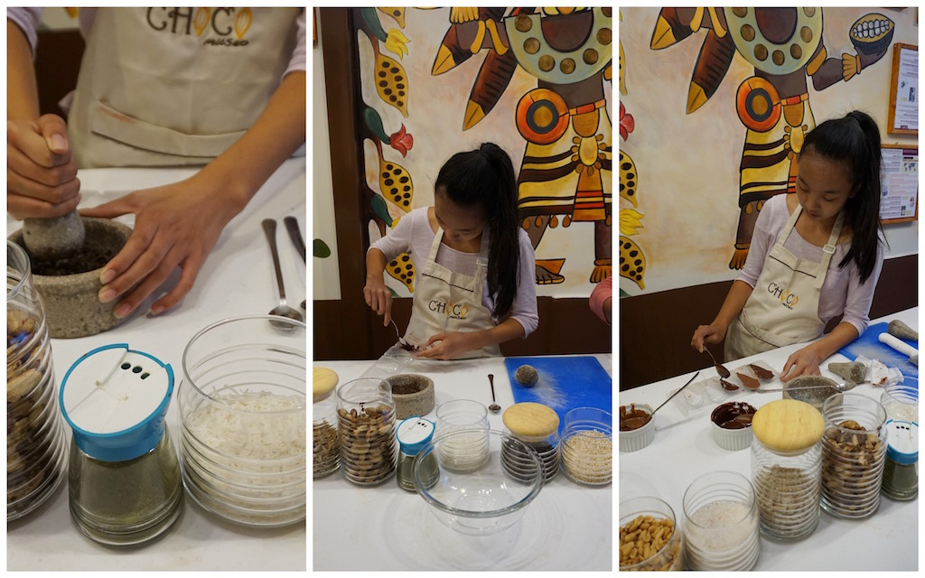 PERU with kids Choco Museo