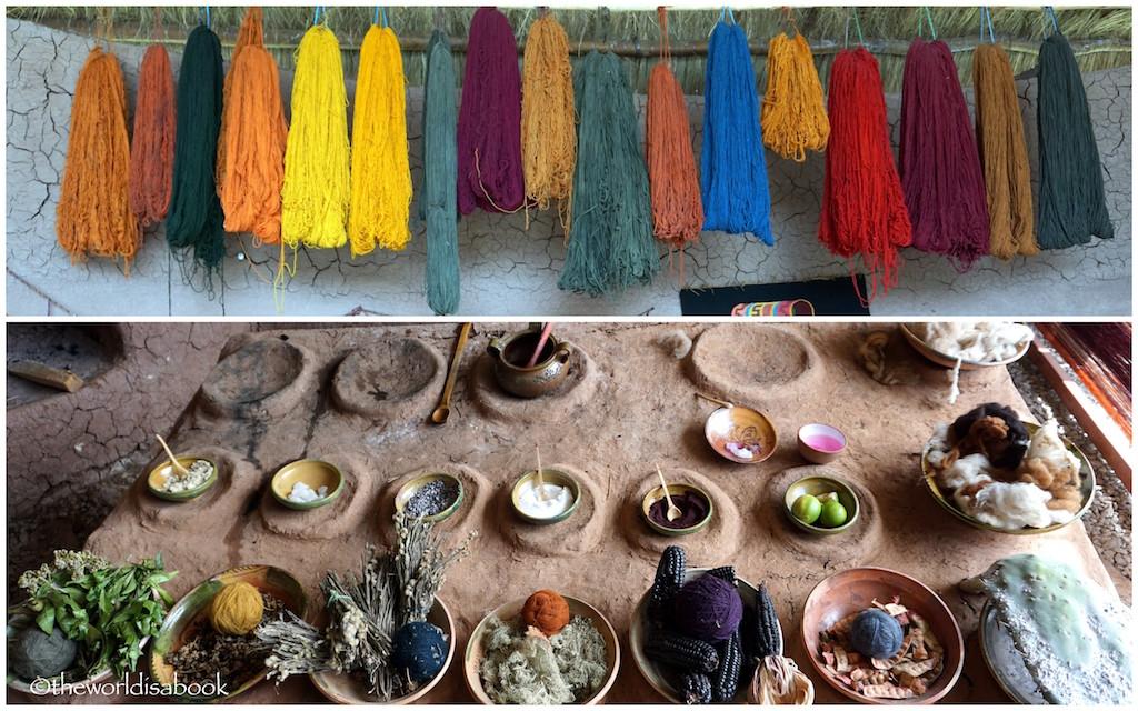 Peru Chinchero Textile factory