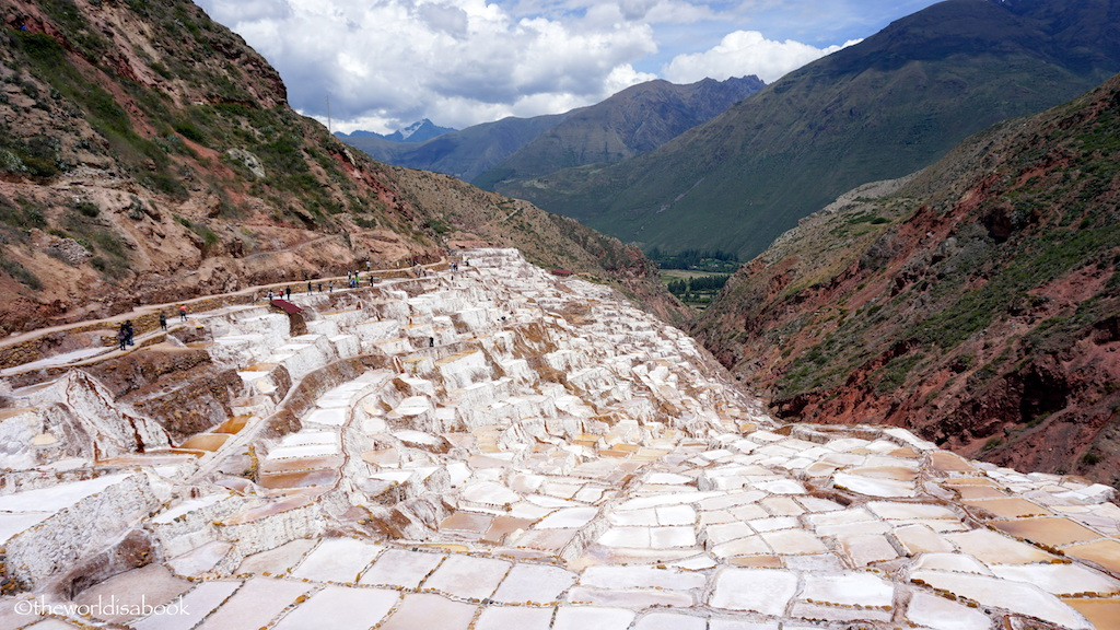 Peru Maras Salt mines