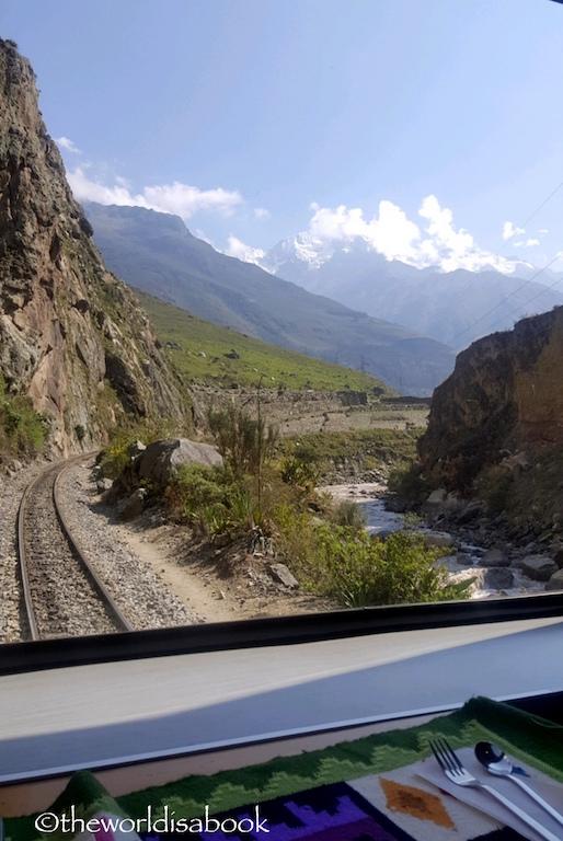 Peru Rail window