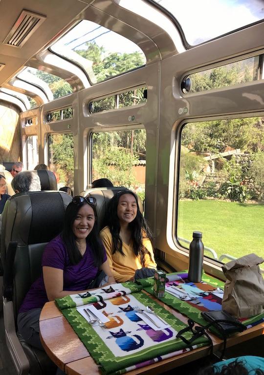 Vista Dome Peru Rail