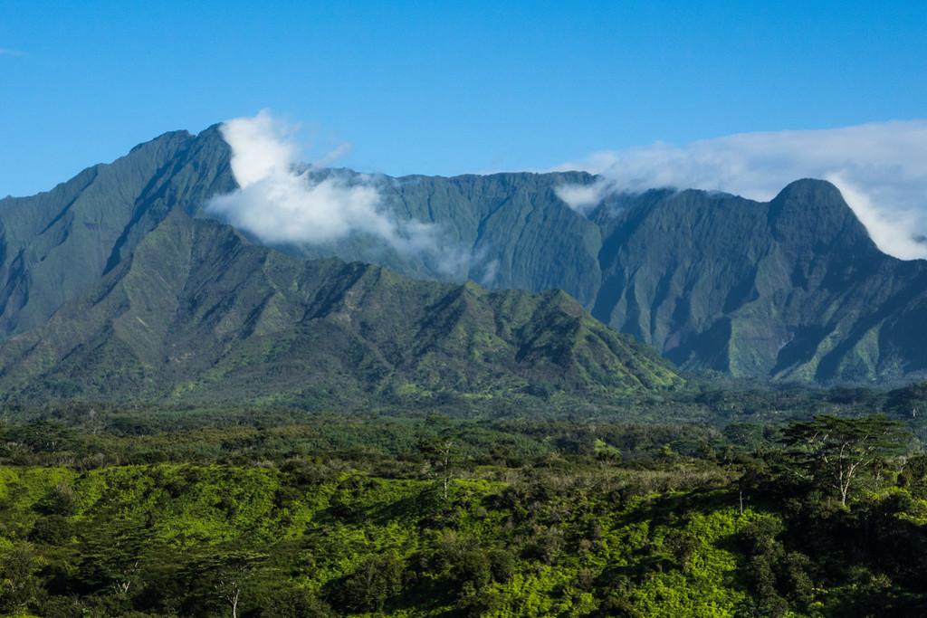 Mount Waialeale Crater Kauai
