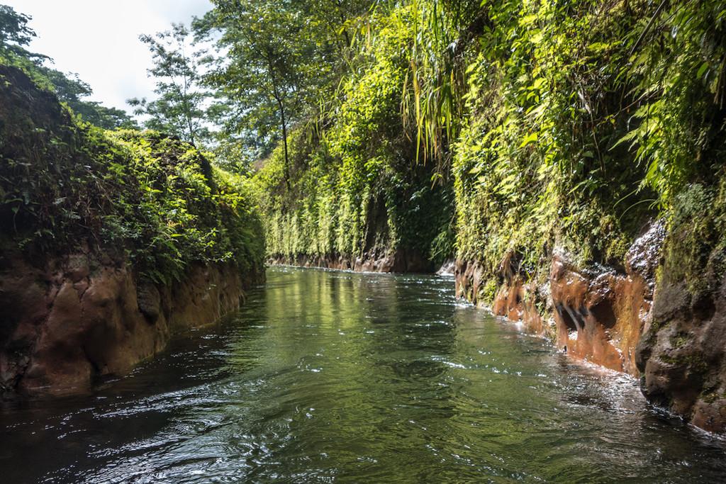 Kauai tubing ditch